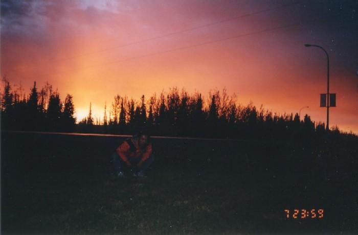 カナダ/ビーバークリークのキャンプ場