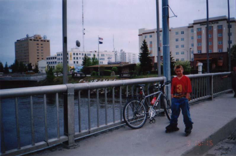 アラスカ/アラスカ第二の都市フェアバンクス