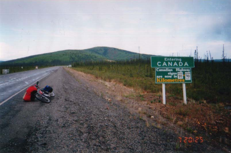 アメリカ→カナダ/カナダ入国