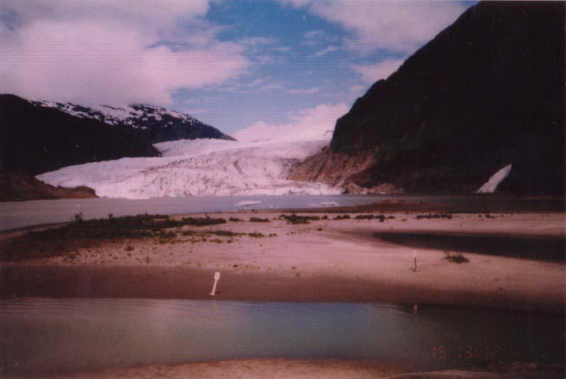 アラスカ/メンデンホール氷河