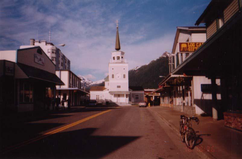 アラスカ/ロシア人が築いた町シトカ