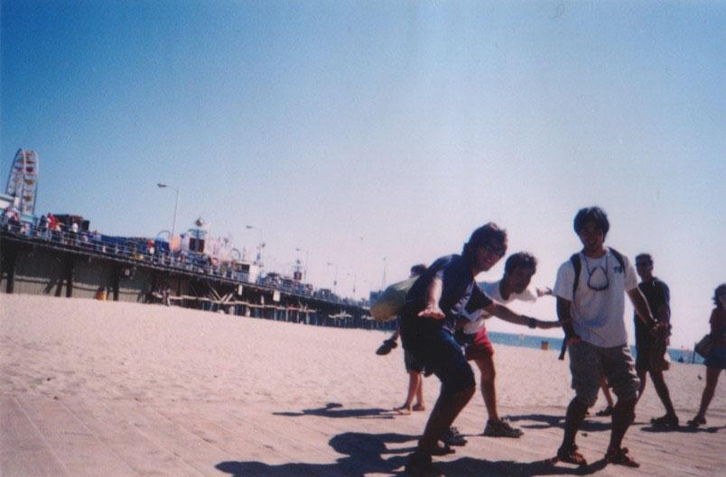 アメリカ/サンタモニカのビーチ