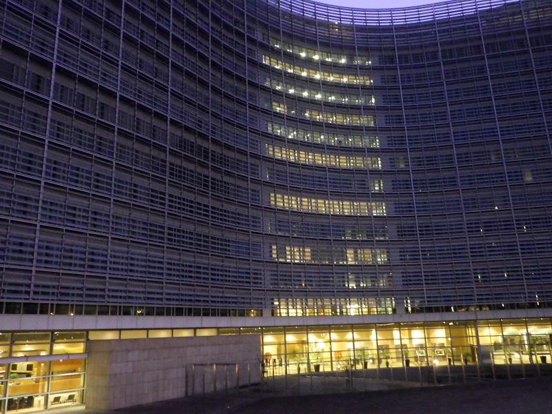 ここがヨーロッパの中心! EU本部