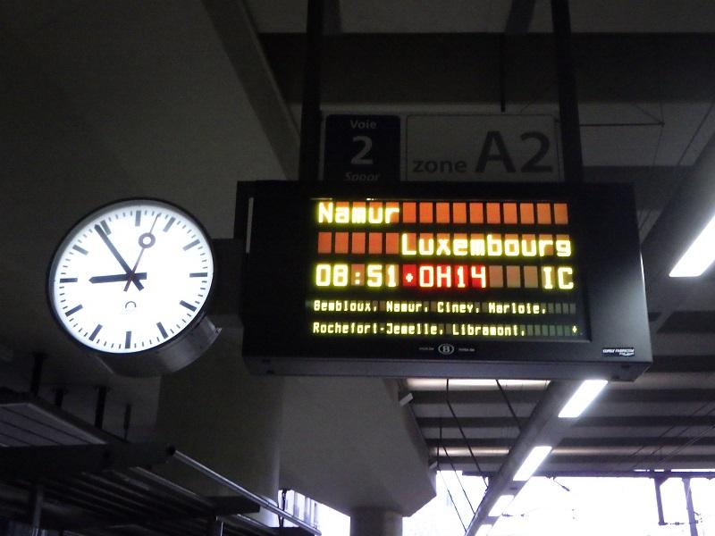 ブリュッセル出発
