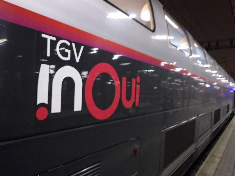 フランスが誇る超特急TGV inOui