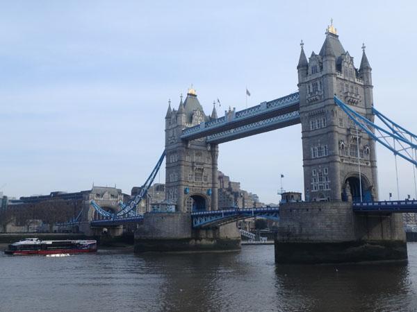 ロンドン・テムズ川
