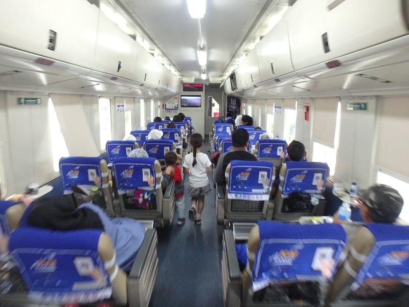 インドネシアの特急列車